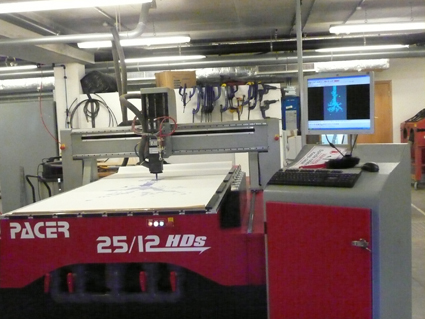 8'x4' flatbed router
