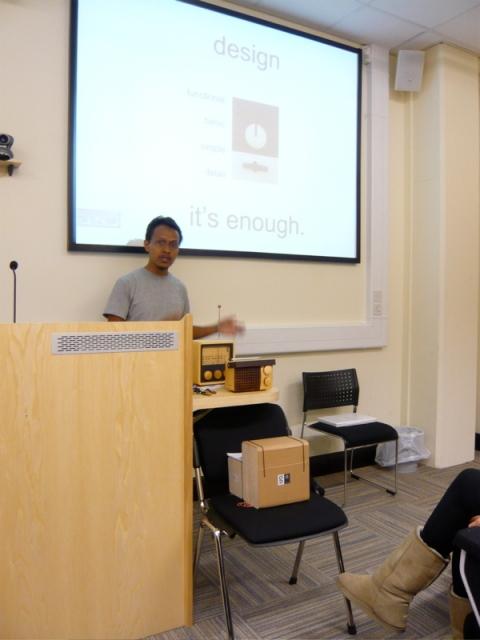 Singgih S Kartono talk at UCF