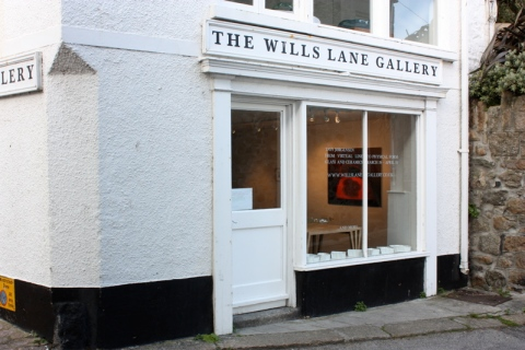 Wills Lane Gallery, St Ives, Cornwall