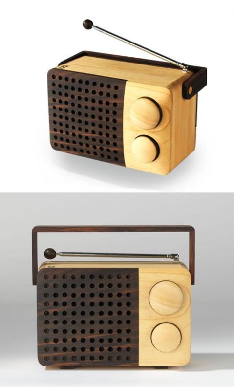 Singgih S Kartono's beautiful Wooden Radio