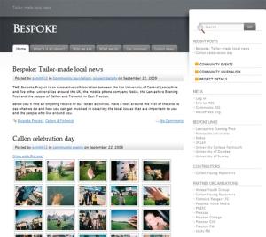bespoke page